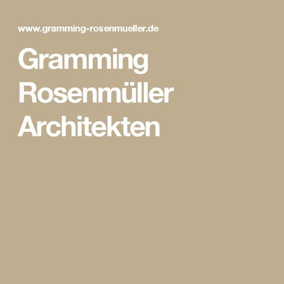 Gramming Rosenmüller Architekten