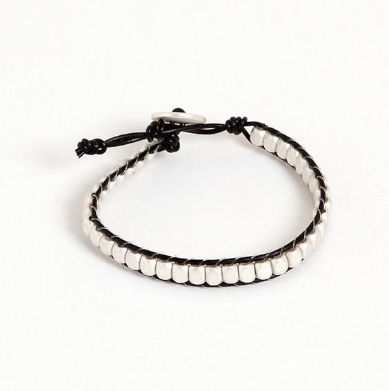This is one of my favorites on totsy.com: AdjustableBeaded Button Bracelet