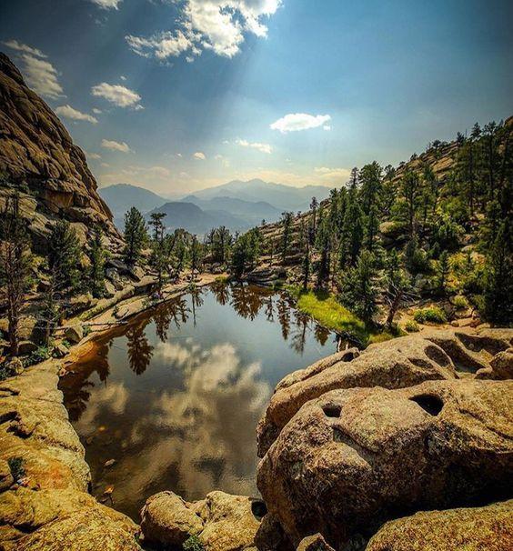 Campgrounds Estes Park Colorado: Estes Park, Gems And Lakes On Pinterest