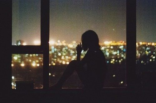 Image result for fall night from window