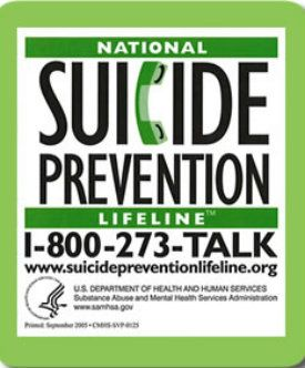 """September is National Suicide Prevention Month. It takes the courage and strength of a warrior to ask for help... If you're a Veteran, Press """"1"""" for help from one of your own ...a Veteran."""