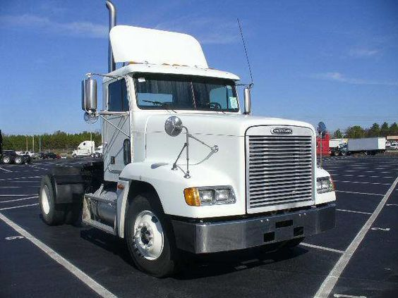 2001 Freightliner Tractor Truck without Sleeper for sale #truck #trucks