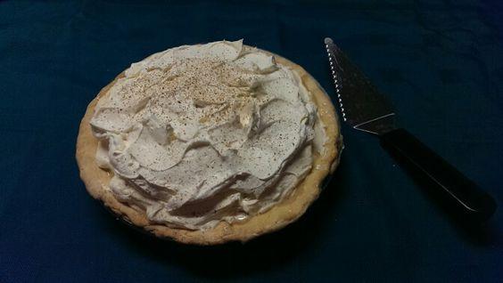Triple Layer Eggnog Pie