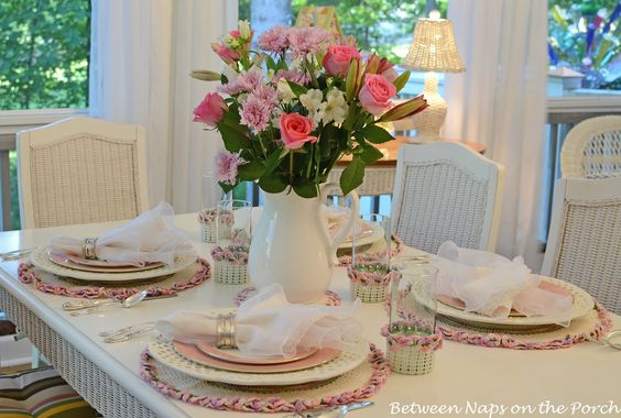 Great site for tablescapes