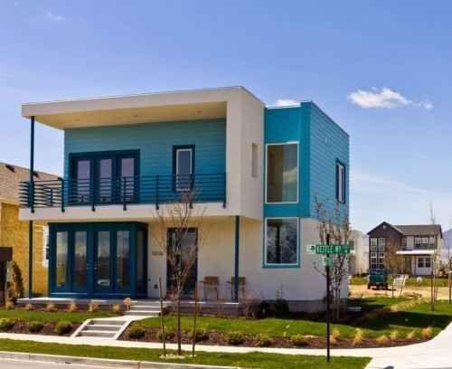 42 Contoh Foto Rumah Minimalis Atap Dak Desain Desain Rumah Atap Miring Rumah Minimalis Rumah Minimalis