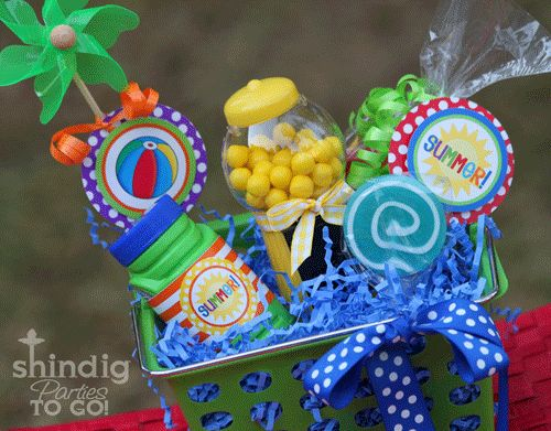 Such a cute idea for a summer party!