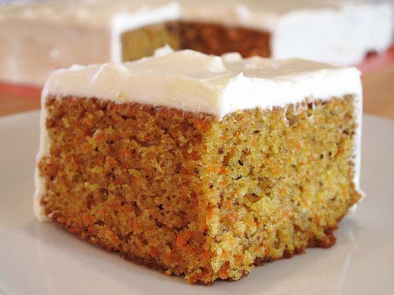 La bonne recette du Carrot Cake à l'américaine .