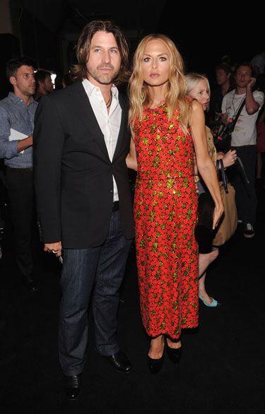 Marc Jacobs Front Row - Rachel Zoe and Roger Berman