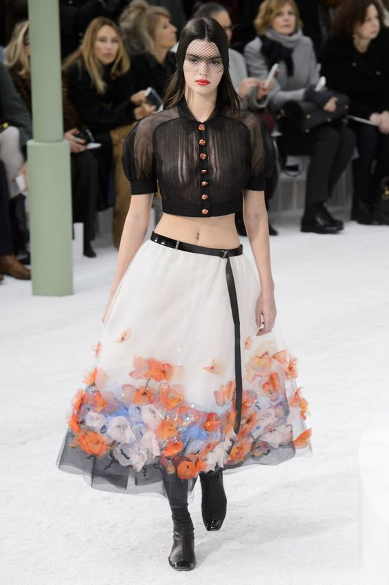Kendall Jenner struts the Chanel Haute Couture show   News   The FMD #lovefmd