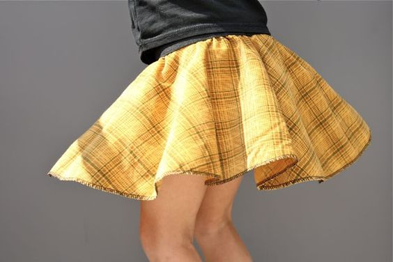 Circle Skirt Tutorial for kids and adults