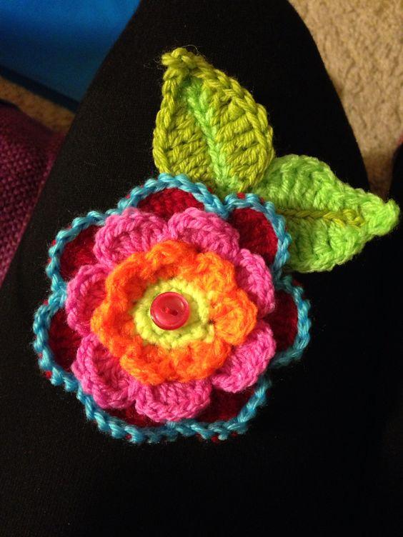 Flower Broach