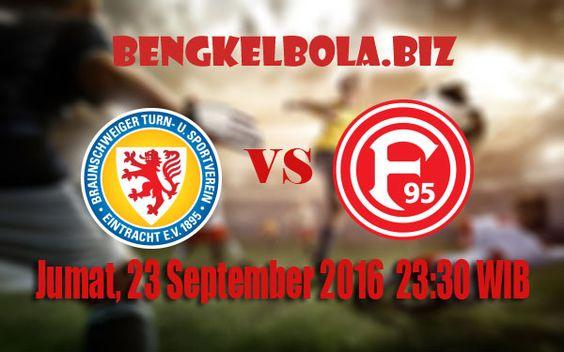 Prediksi Eintracht Braunschweig vs Fortuna Dusseldorf 23 September 2016