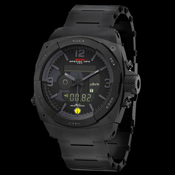 MTM Introduces RAD Tactical Watch For Radiation Detection