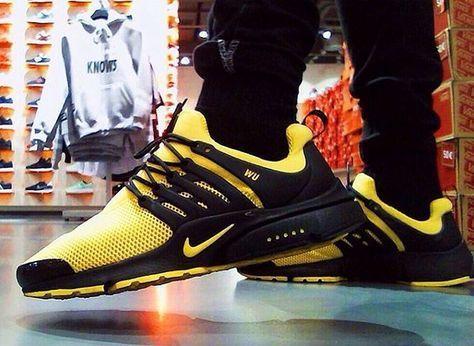 Nike Air Presto Wu Tang - pablo_atr | Chaussure nike air ...