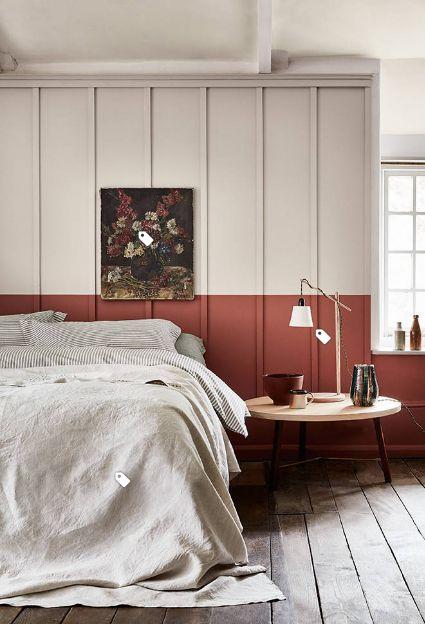 rode slaapkamer