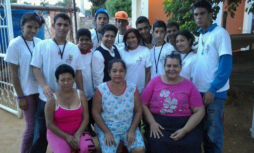 Campamento Misionero Colegio Maria Auxiliadora. Parroquia La Resurreccion del Señor. Agosto 2012