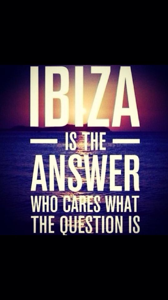 In 2 days!!!!!! Uhuuuuuuuu #Ibiza :)