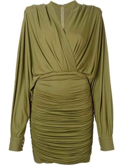 Balmain Vestido - Lillas Fashion - Farfetch.com
