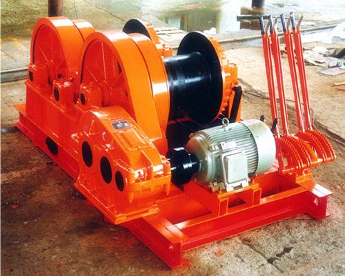 2jkl Piling Motor Winch With 4 Handles For Sale Hydraulic Winch Winch Electric Winch