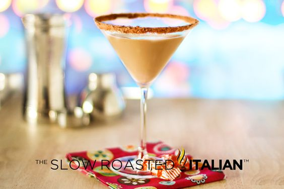 Root Beer Float Martini From theslowroasteditalian.com #recipe