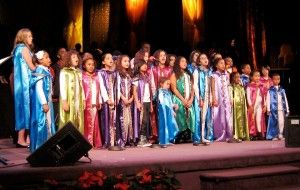 The acclaimed Agape Youth Choir is featured on the Pacha's Pajamas album