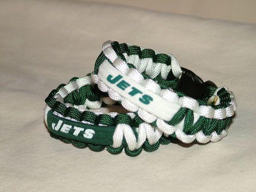 New York Jets NFL Survival 550 Paracord Bracelet