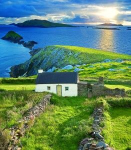 not fair to be this beautiful :: above the sea, ireland