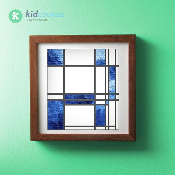 Free download! Create your own Mondrian-style work of art.