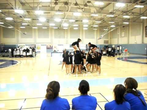 8 Count Stunt Youtube Cheerleading Cheer Captain Stunts