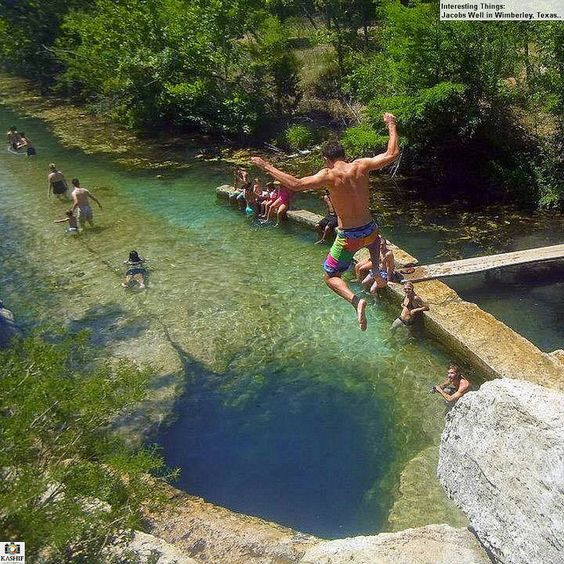 15 Texas Swimming Holes You Can't Miss This Summer: