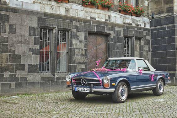 #asundaycarpic ----- #mercedes #mercedesbenz #wedding #hochzeit #beautiful #aachen