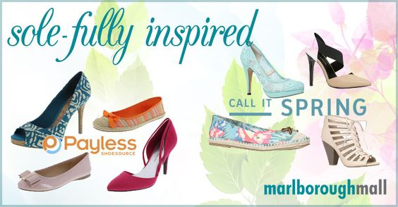 Spring has sprung and with its arrival comes blooming flowers, warmer weather and sole-ful inspiration!