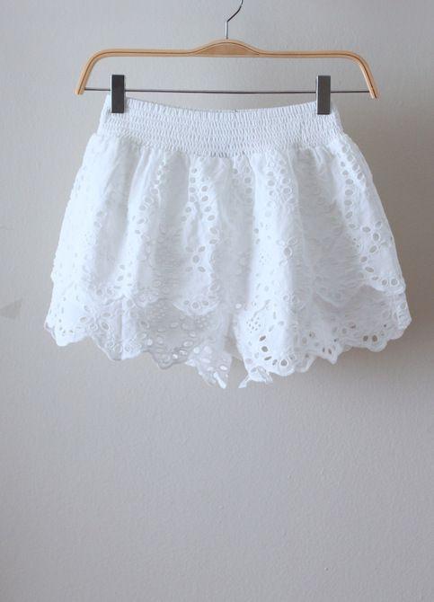 Lily Eyelet Shorts