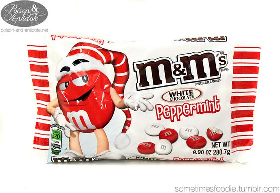 Damn these... my crack: White Chocolate Peppermint M's | Delicious ...