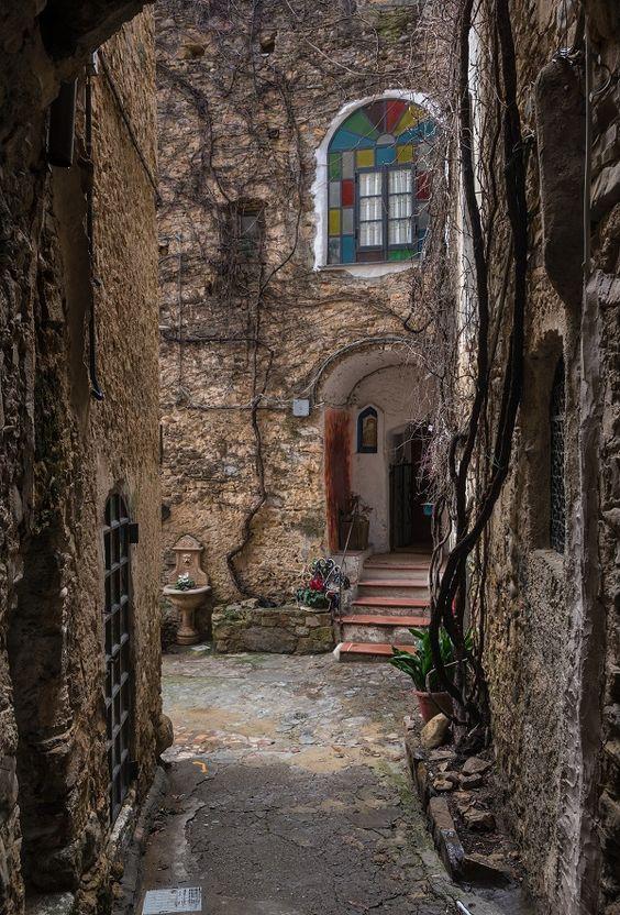 Bussana Vecchia, Imperia, Italy