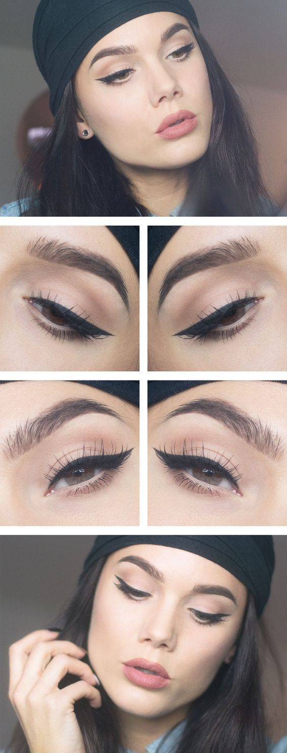 5 Tips on How to Apply Graphic Eyeliner & Graphic Eyeliner Designs Perfectly: Graphic Eyeliner color ideas