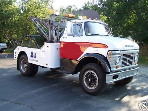 Ford N Model Tow Truck With Holmes 600. Providing #Tow truck insurance for over 30 years - www.TravisBarlow.com