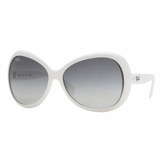 Ray Ban Black And White Sunglasses