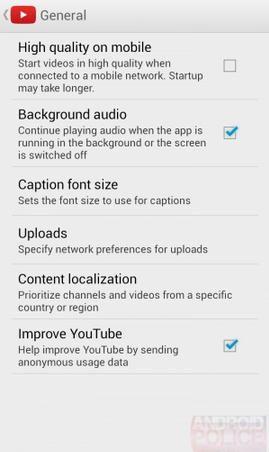 Aplicação do Youtube para Android irá permitir a reprodução em fundo