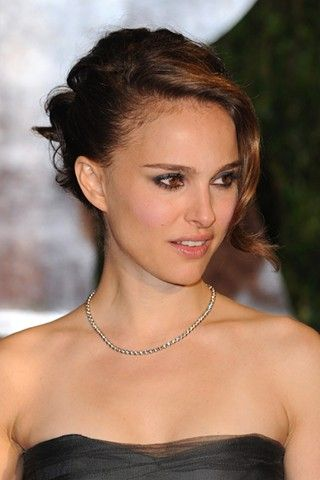 natalie portman hair style file carpets beauty and red