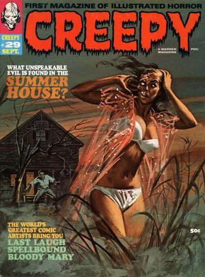 Cover for Creepy (Warren, 1964 series) #29  September 1969
