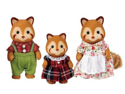Red Panda Family