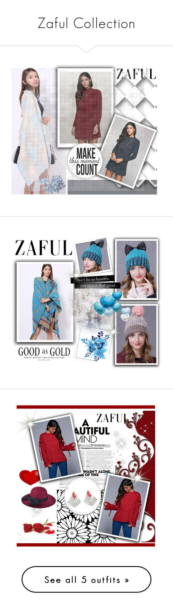 """""""Zaful Collection"""" by glosaryy ❤ liked on Polyvore featuring zaful"""