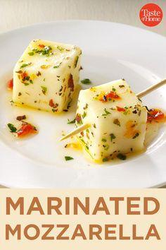 Marinated Mozzarella