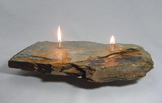 Fire Rock 2 Double Wick Each Fire Rock Candle Is