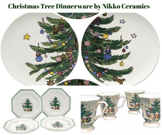Christmas Tree Dinnerware Collection by Nikko Ceramics