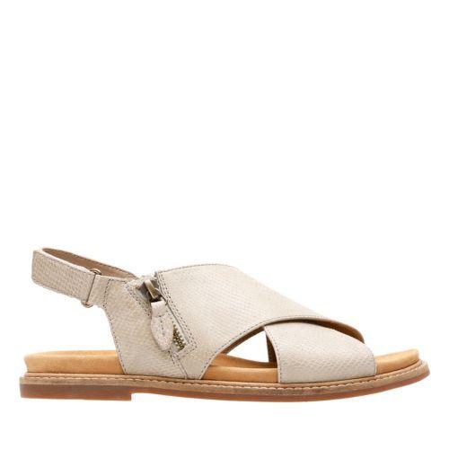 Corsio Calm Sand Leather womens-flat