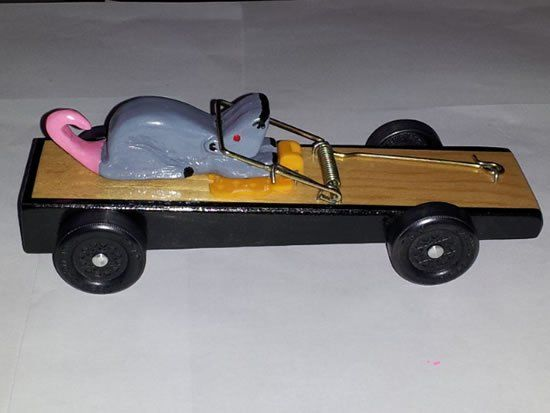 Pinewood Derby Car Mouse Trap Pinewood Derby Cars Pinterest