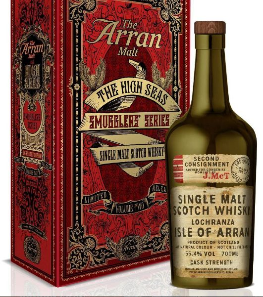 New Release - Arran Smugglers Edition - Volume 2 #scotch #whisky #whiskey #malt…