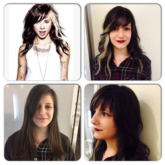 dark stylists and colors on pinterest